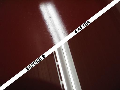 đánh bóng hoàn thiện bề mặt sơn xe ô tô