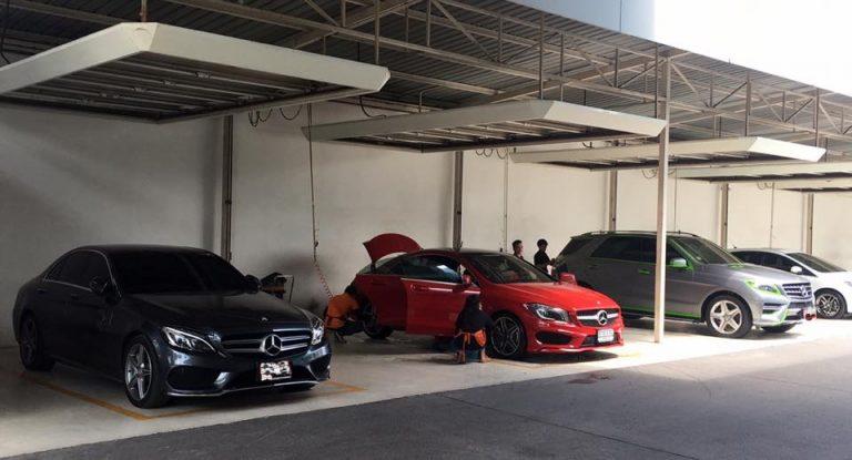 """mở tiệm rửa xe ô tô """"một vốn chín lời"""""""