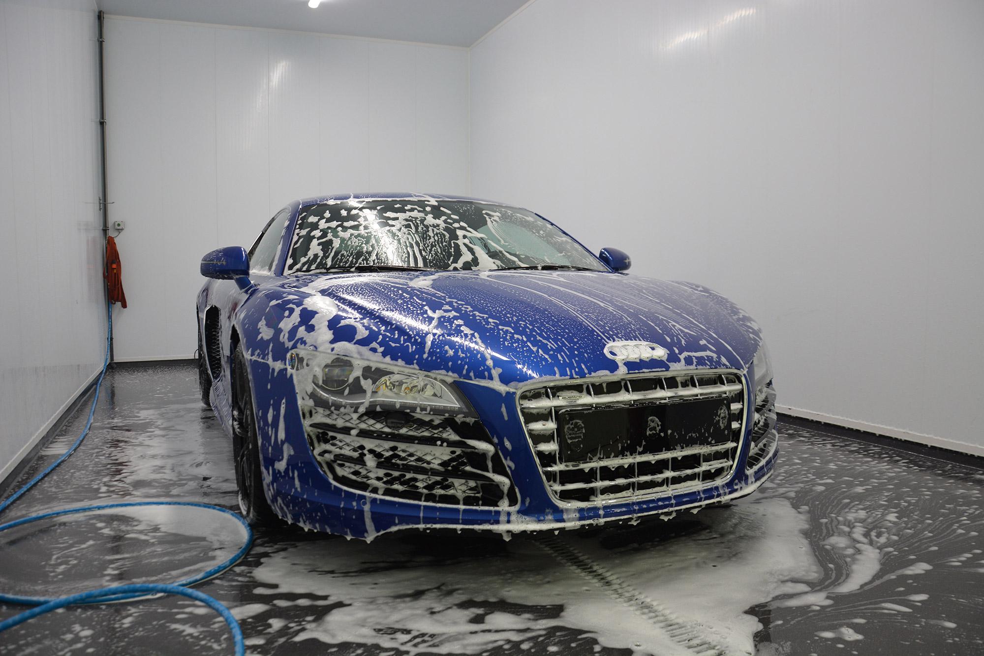 mở tiem rửa xe ô tô tại TP. HCM