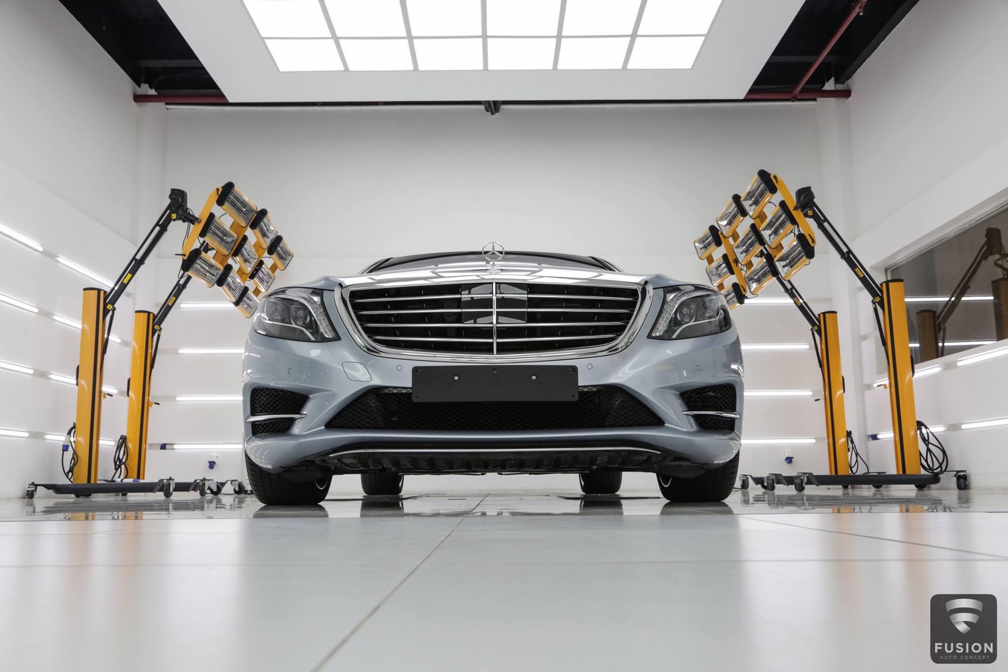 mô hình chăm sóc xe ô tô kiểu Mỹ