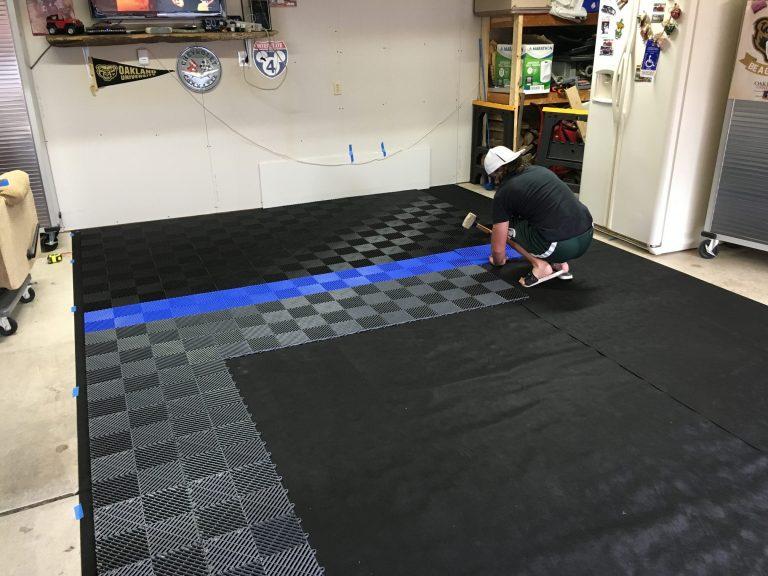lót tấm sán nhựa PP Floor Tile