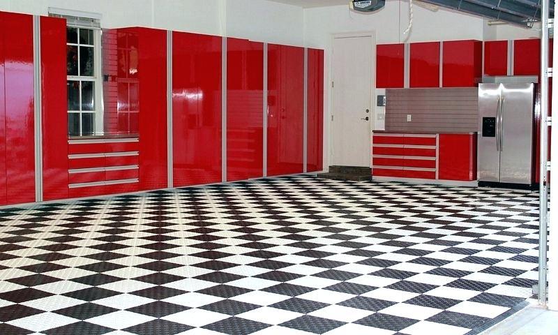 Mẫu thi công tấm lót sàn nhựa PP Floor Tile