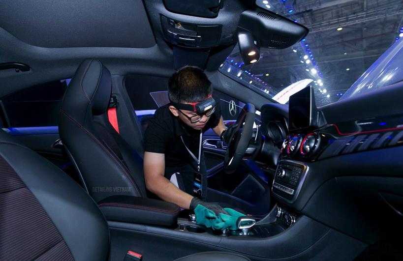 khóa học chăm sóc xe hơi theo phương pháp SERT