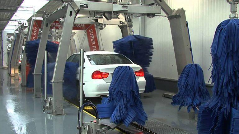 Top 3 Mô hình rửa xe ô tô tự động phổ biến