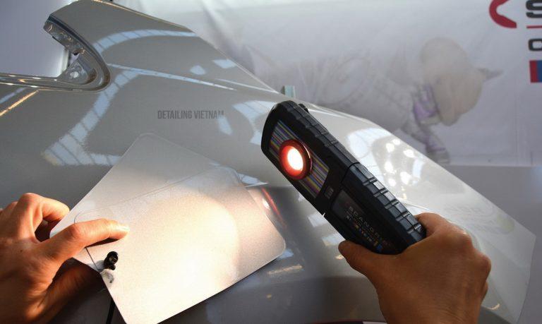 Mua đèn soi màu sơn xe