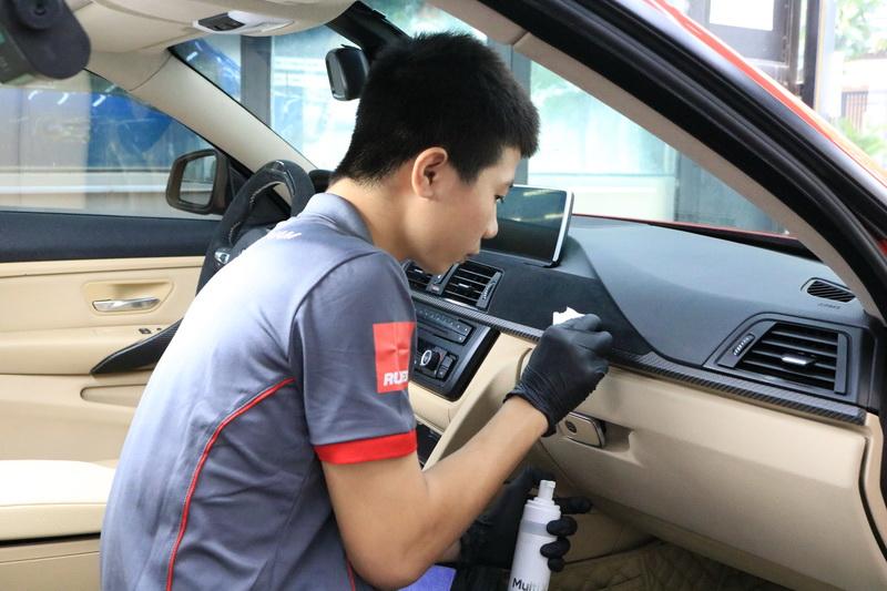 Khóa học thực hành chăm sóc xe ô tô cơ bản
