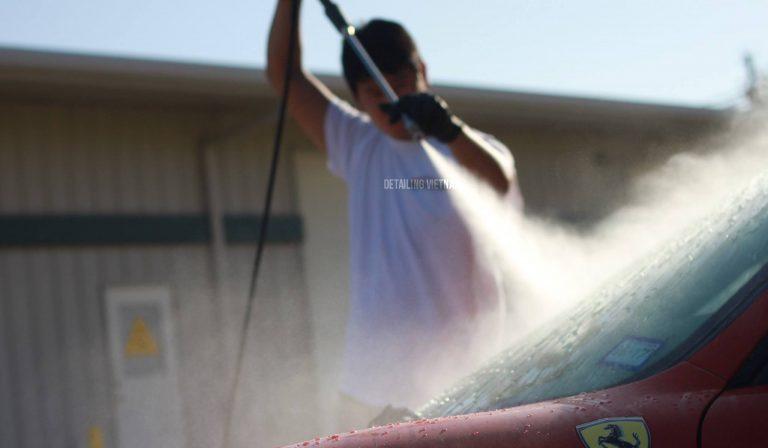 Chi phí mở tiệm rửa xe ô tô