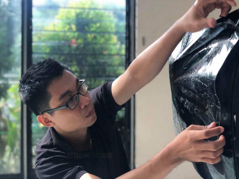 Học dán film chống xước PPF