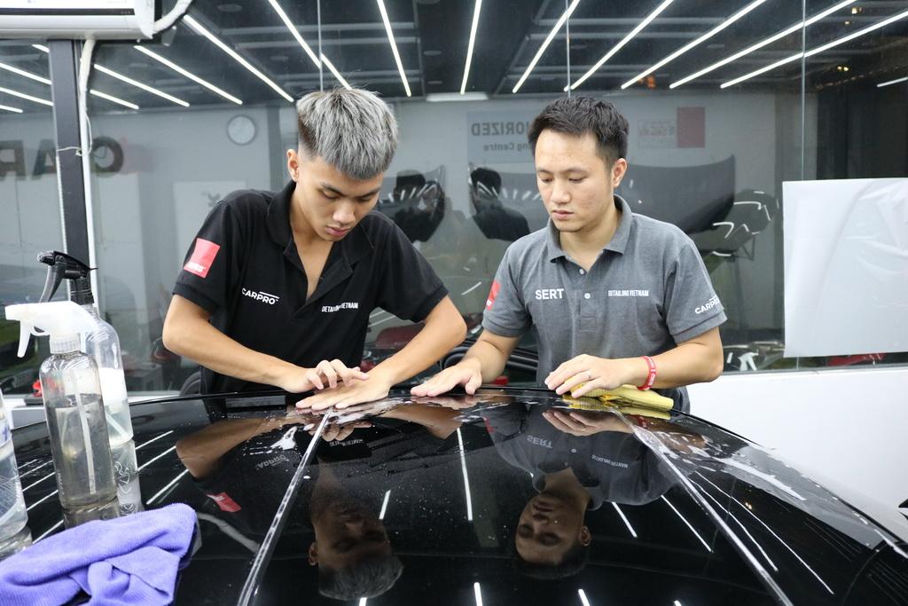 Hệ thống các khóa học chăm sóc xe detailing từ cơ bản đến nâng cao