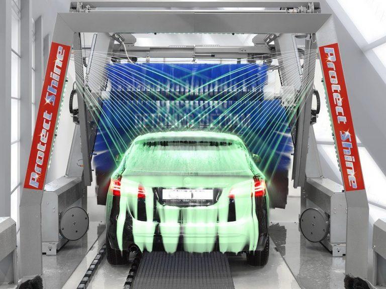 hệ thống rửa xe thông minh thế hệ 2