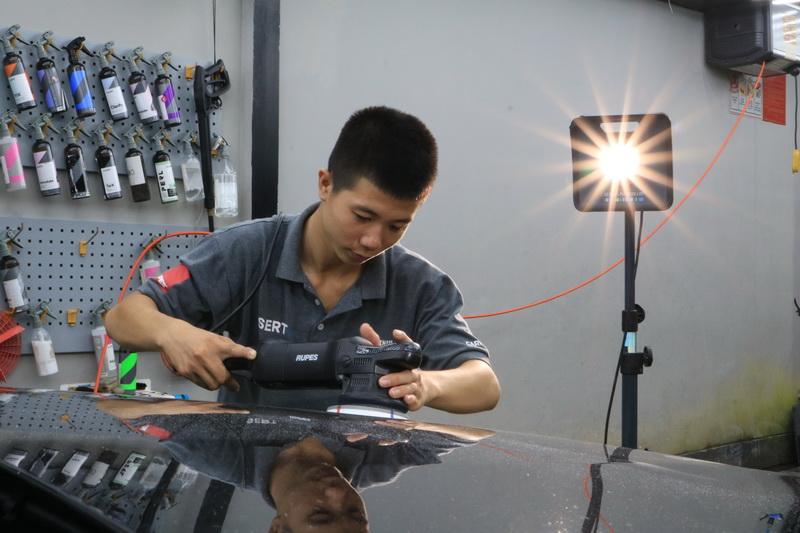 Khóa học C.O.R.N.T Detailer Performance Maximum - Tối đa hiệu suất kỹ thuật viên chăm sóc xe