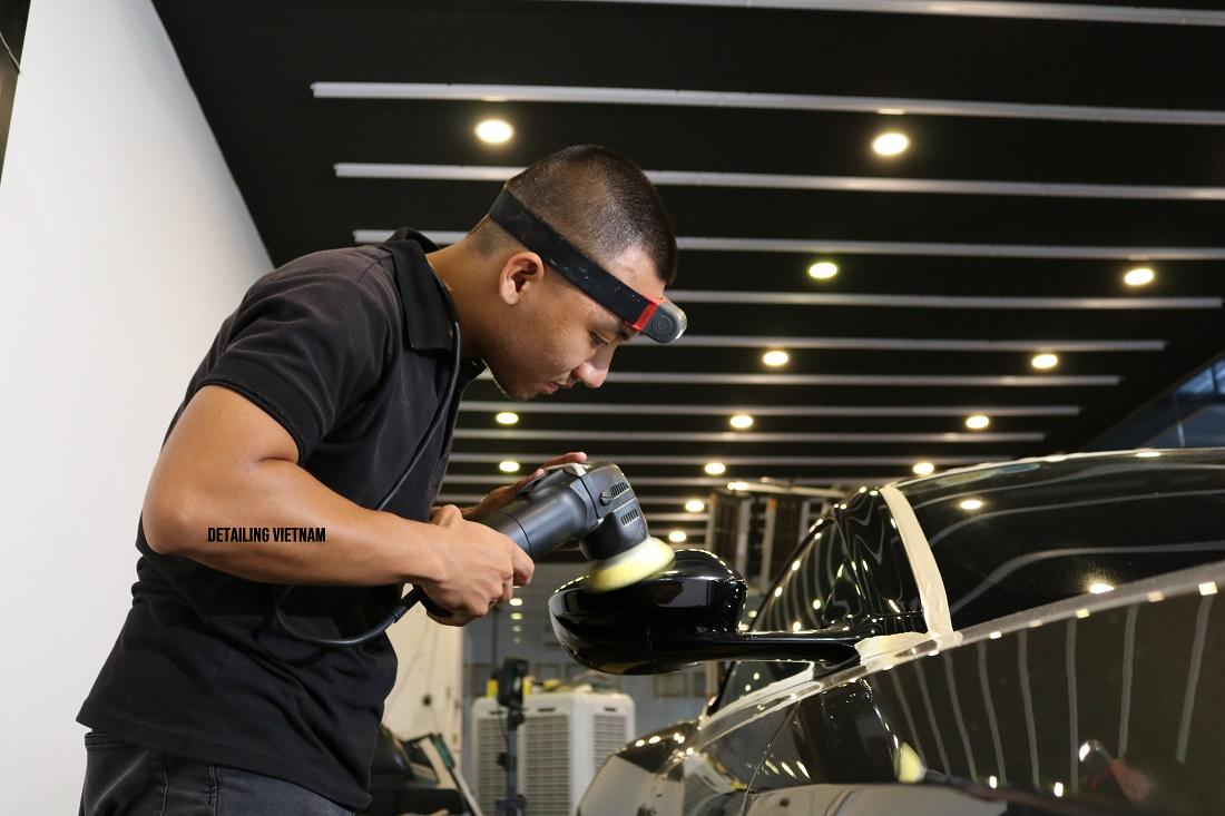 Khóa học Nguyên lý Hiệu chỉnh sơn xe BIGFOOT RUPES POLISHING SYSTEM