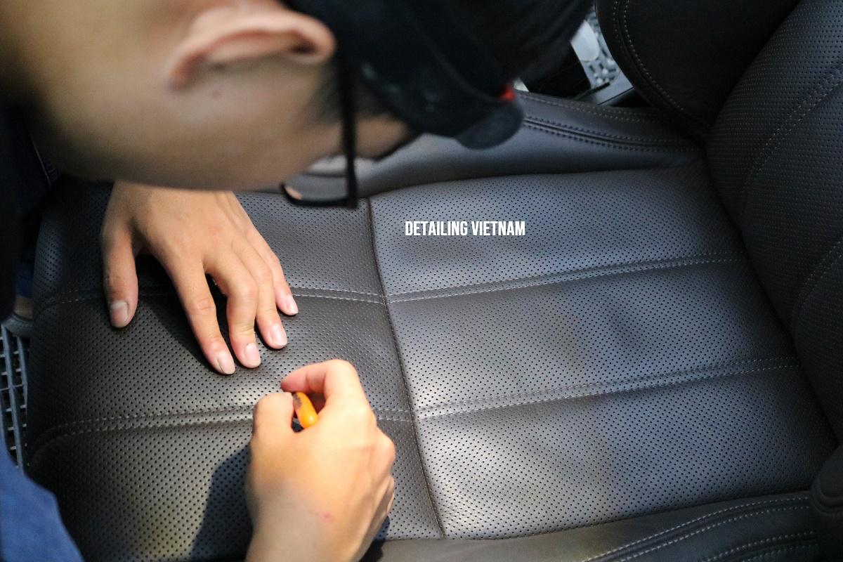 Khóa học Kỹ thuật sửa chữa và phục hồi ghế da cơ bản Basic Leather Repair Techniques