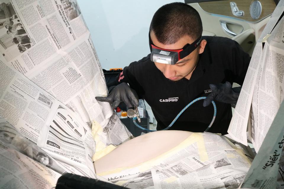 Khóa học Kỹ thuật sửa chữa và phục hồi ghế da cơ bản