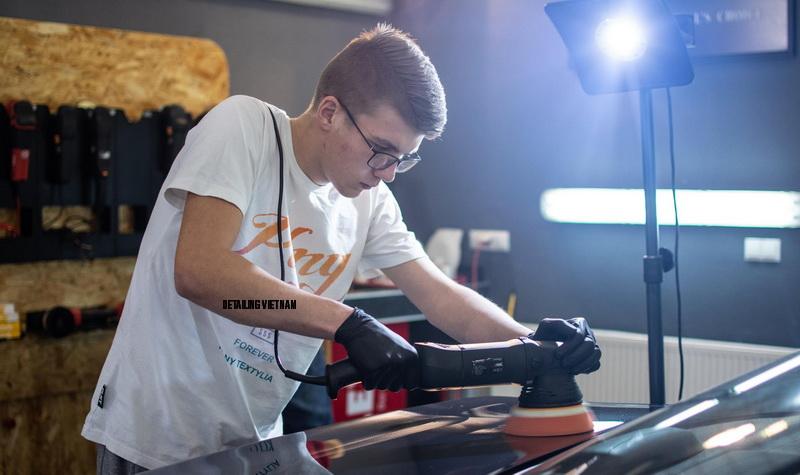 Thiết kế phòng phủ ceramic coating tiêu chuẩn