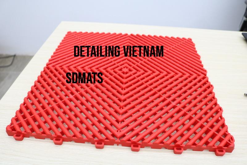 sàn nhựa pp chịu lực cao phòng phủ ceramic coating