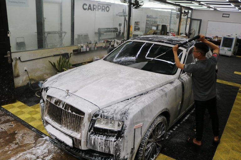 Hiểu đúng về chỉ số pH khi pha xà bông rửa xe