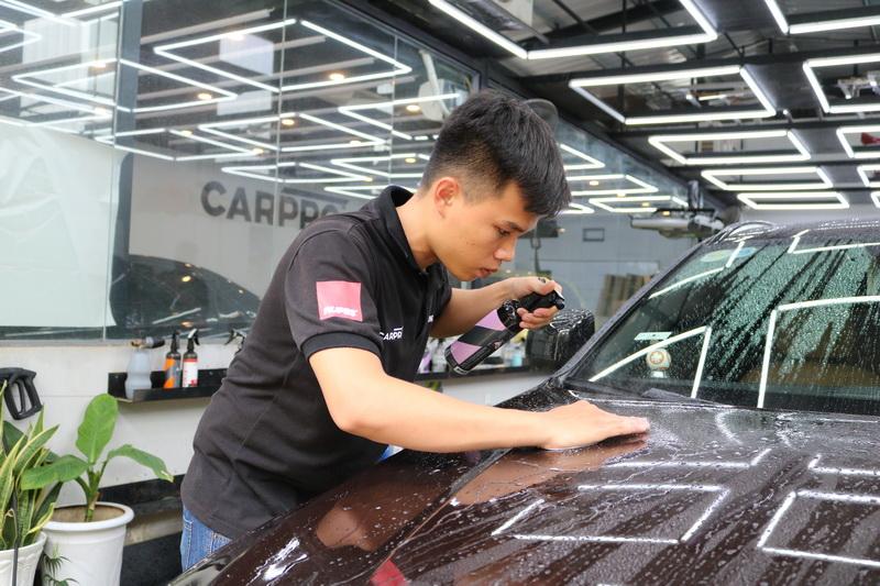 Khóa học thực hành chăm sóc xe cơ bản SERT Basic Detailing Practices