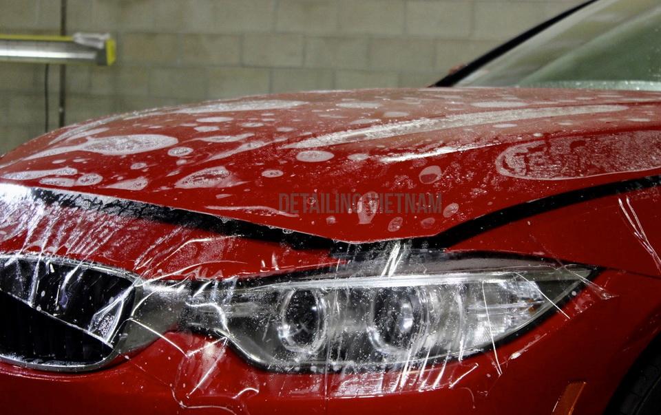 dán phim ppf bảo vệ sơn xe